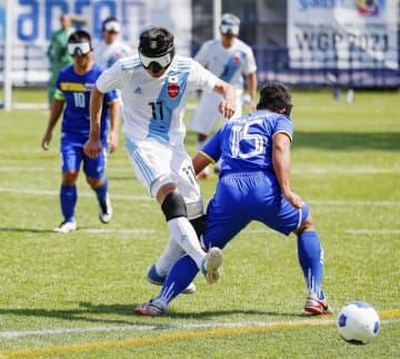 5人制サッカー、日本は2連勝 国際大会でタイに勝利 画像1