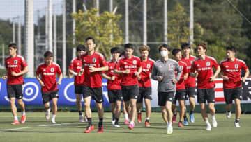 五輪代表、OA加わりミニゲーム U―24日本、千葉で合宿開始 画像1