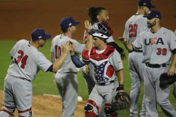 米国が白星スタート 野球の五輪米大陸予選が開幕 画像1