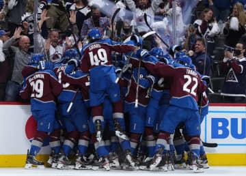NHL、アバランチが2連勝 プレーオフ、各地で準々決勝 画像1