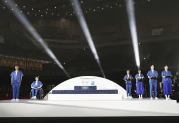 東京五輪・パラの表彰台を発表 再生プラで持続可能性を意識 画像1