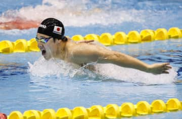 400m個人メドレーで瀬戸V 競泳ジャパン・オープン 画像1