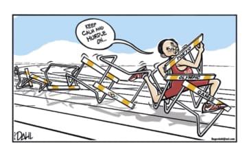 五輪題材の風刺画、1200点 IOC非公認の作品集出版 画像1