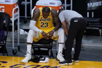 NBA、昨季王者レーカーズ敗退 プレーオフ1回戦 画像1