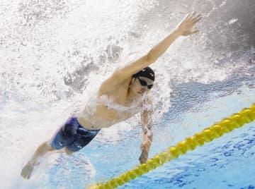松元が男子200自でV 競泳ジャパンOP第2日 画像1