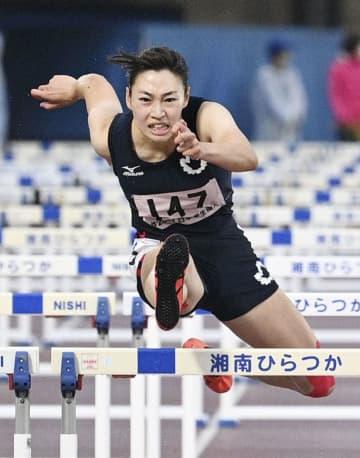 陸上、玉置菜々子が大会新で優勝 100m障害、日本学生個人 画像1