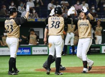 巨4―6日(5日) 日本ハムが逆転勝ち 画像1