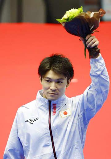 体操の内村、4大会連続五輪へ 団体総合は谷川航と18歳北園 画像1