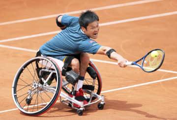 国枝慎吾、3年ぶり優勝ならず 全仏テニス車いす、上地組も準V 画像1