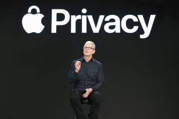 米アップル、個人情報保護を強化 アプリ、利用状況を一覧把握 画像1