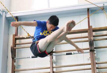 高飛び込み、玉井陸斗が意欲語る 五輪代表14歳「メダル争いを」 画像1