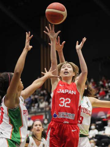 バスケ、日本がポルトガル下す 女子強化試合 画像1