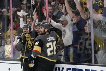 ゴールデンナイツ準決勝に NHLのPO、4強出そろう 画像1