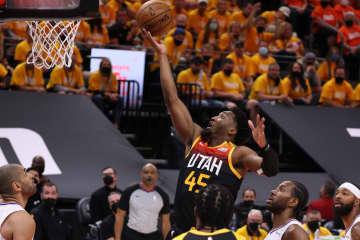 NBA、ジャズが2連勝 地区プレーオフ準決勝 画像1