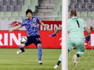 日本、セルビアに競り勝つ 親善試合、伊東がゴール 画像1