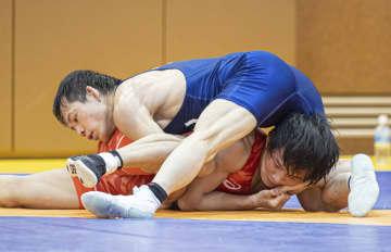 高橋侑希、初の五輪出場 レスリング代表決定戦、樋口下す 画像1