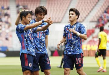 U―24日本、4得点で快勝 ジャマイカとの国際親善試合 画像1
