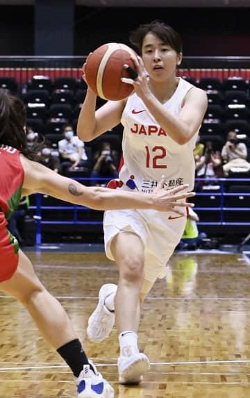 バスケ女子、ポルトガルに2連勝 五輪日本代表候補の強化試合 画像1
