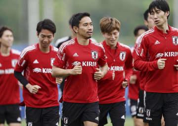 日本代表、キルギス戦へ調整 15日に大阪で開催、W杯予選 画像1