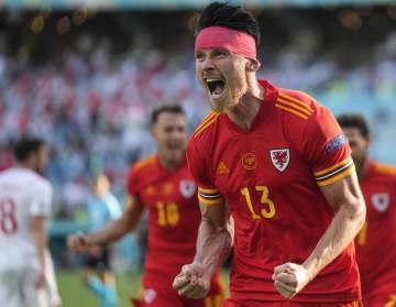 ウェールズが引き分ける サッカー欧州選手権第2日 画像1