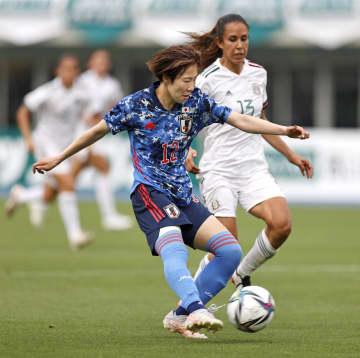 なでしこ、メキシコに快勝 サッカー女子国際親善試合 画像1