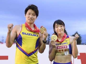 陸上、女子七種は山崎が4連覇 日本選手権混成、中村4度目V 画像1