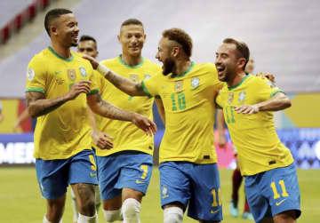 ブラジル白星発進 サッカー南米選手権が開幕 画像1