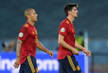 スペインが引き分ける サッカー欧州選手権 画像1