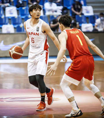 バスケ、日本は中国に敗れる 男子アジア杯予選 画像1