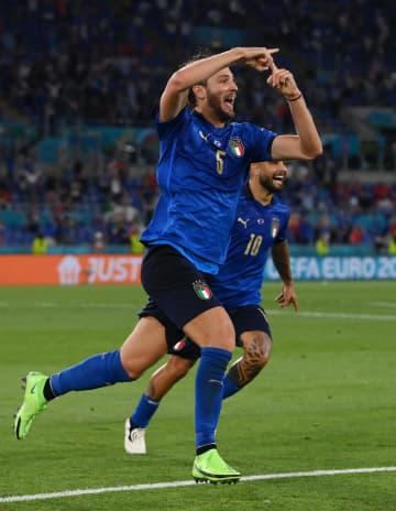 イタリア、2連勝で決勝T進出 サッカー欧州選手権1次L 画像1