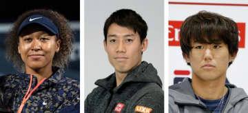 テニスの大坂、西岡が五輪出場権 錦織は日本勢最多4度目 画像1