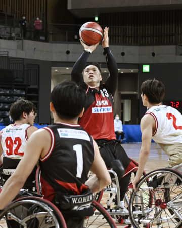 男子は藤本、鳥海ら内定 車いすバスケットボール 画像1