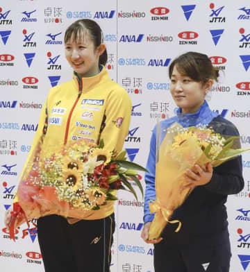 卓球、早田と安藤が代表権獲得 アジア選手権選考会 画像1