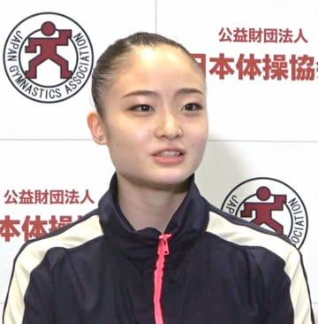 皆川夏穂「ベストを尽くす」 新体操個人の五輪選考会 画像1