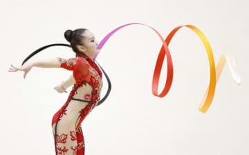 喜田トップ、大岩が2位 新体操個人の五輪選考会 画像1