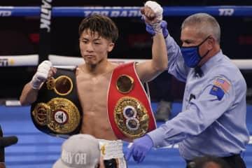 井上尚弥、3回KO統一王座防衛 米ラスベガス、WBAとIBF 画像1