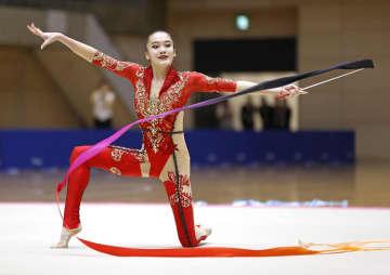喜田、大岩が初の五輪切符 新体操個人の代表選考会 画像1