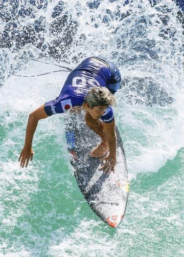 五十嵐カノア、CT今季最高3位 サーフィン、五輪前最後の試合 画像1