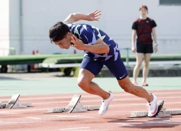 山県亮太「不安とわくわく」 24日から陸上日本選手権 画像1
