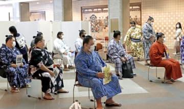親方、力士らがワクチン接種 名古屋場所前、正代は感謝 画像1