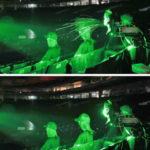 東京ドームで飛沫実験 レーザーで拡散を可視化 画像1
