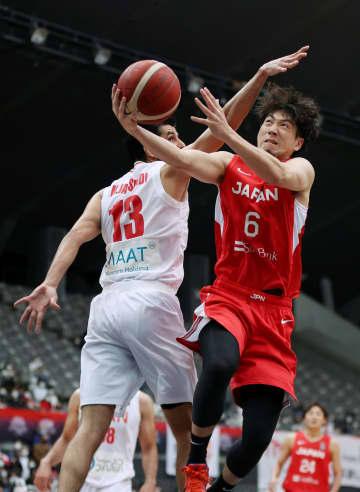 バスケ男子、格上のイランに快勝 東京五輪に向け強化試合 画像1
