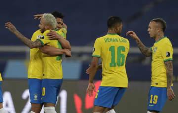 ブラジルが3連勝、南米選手権 1次リーグ、コロンビアも8強 画像1