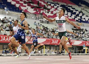 男子100m、山県らが決勝へ 陸上の日本選手権開幕 画像1