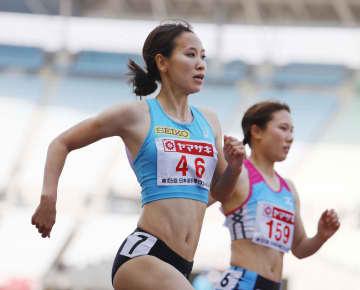 100mで福島敗退、去就語らず 陸上日本選手権、国内記録保持者 画像1