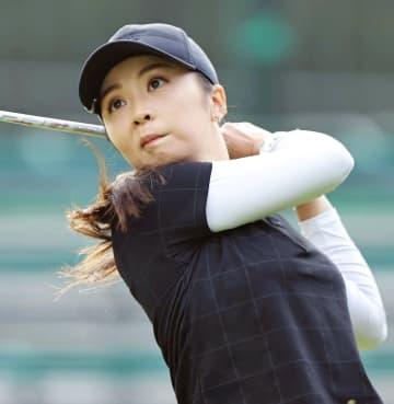 菊地絵理香が首位、古江彩佳4位 女子ゴルフ第1日 画像1
