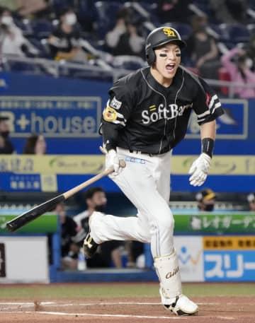 ロ2―7ソ(24日) 柳田が2本塁打 画像1