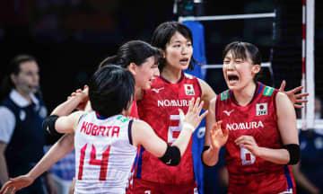 女子バレー日本、3決へ ネーションズリーグ 画像1
