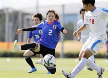 なでしこ、男子高校生と合同練習 サッカー女子代表の強化合宿 画像1