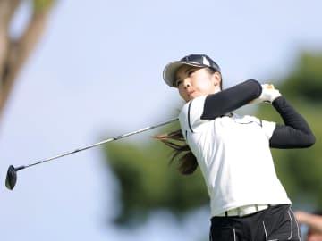 女子ゴルフ、菊地絵理香が首位 第2日、稲見萌寧が予選落ち 画像1